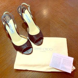 Jimmy Choo 'Laser' Sandal Heels, size 39